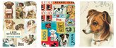 Cavallini & Co. 3-Pack Vintage Dogs 4 by 5.5-Inch Mini Notebooks