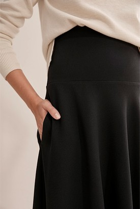 Country Road Knitted Waistband Skirt