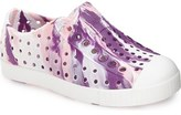 Native 'Jefferson - Marbled' Perforated Slip-On (Baby, Walker, Toddler & Little Kid)