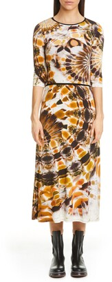 Fuzzi Print Dress