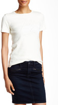 AG Jeans Alexa Chung Palm Reader Short Sleeved Graphic Tee