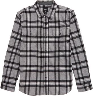 Vans Westminster Plaid Flannel Button-Up Shirt