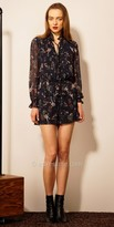 EDM Private Collection Long Sleeve Floral Blouson Romper