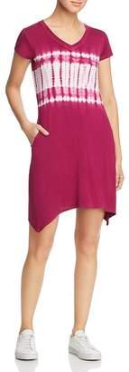 Andrew Marc Tie-Dyed Tee Dress