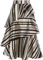 Coast Oriana Stripy Skirt