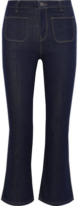 Iris & Ink Lis High-rise Kick-flare Jeans