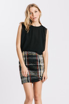 Karen Zambos Plaid Izzy Dress