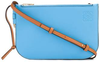 Loewe Gate double zip pouch