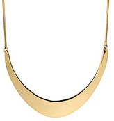 Kenneth Cole Goldtone Half Moon Frontal Necklace