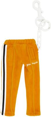 Palm Angels Orange Mini Track Pants Keychain