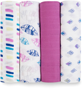 Aden Anais Wink Classic Muslin Swaddles - Set of Four