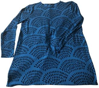 Marimekko Turquoise Cotton Dresses