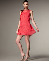 Nanette Lepore All Tucked Out Dress