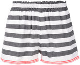 Lemlem striped shorts - women - Cotton/Acrylic - S