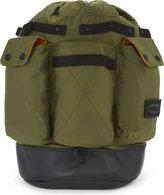 Daniel Poole Ma-1 Leather And Nylon Backpack