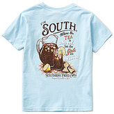 Southern Fried Cotton Big Boys 8-20 Sweetness of the South Short-Sleeve Tee