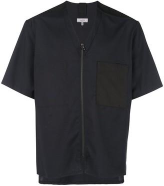 Lanvin zip front T-shirt