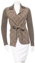 Ungaro Wool Plaid Sweater