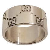 Gucci Silver White gold Ring