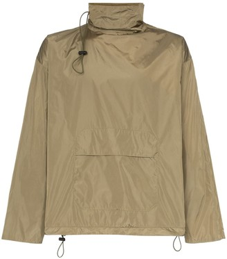 Paria Farzaneh Zip Sleeve High Neck Boxy Fit Jacket