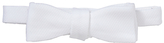 John Lewis Cotton Self-tie Bow Tie, One Size, White