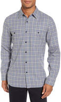 Nordstrom Workwear Duofold Check Sport Shirt