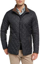 Peter Millar Suffolk Quilted Car Coat