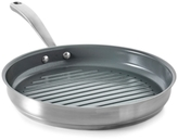"Martha Stewart Collection Culinary Science by Martha Stewart Collection Ceramic Interior 11"" Grill Pan"