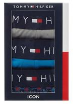 Tommy Hilfiger Pack Of Three Assorted Printed Hipster Trunks
