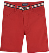 Andy & Evan Stretch Twill Bermuda Shorts, Red, Size 2-7