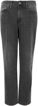 Frame Le Nouveau Straight Dark Grey Jeans