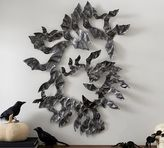Pottery Barn Flying Bats Wall Art