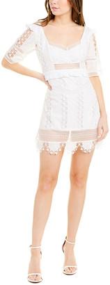 For Love & Lemons Amandine Mini Dress