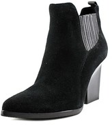 Donald J Pliner Vale Women Pointed Toe Suede Ankle Boot.