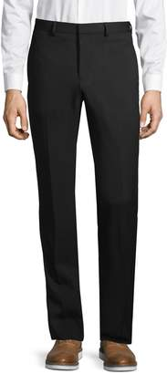 Givenchy Flat-Front Wool-Blend Pants
