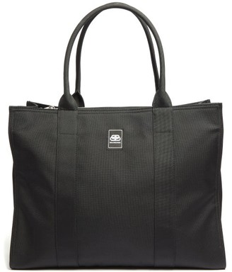 Balenciaga Trade Large Nylon-canvas Tote Bag - Black