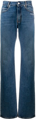 Off-White Mid-Rise Boyfriend Jeans