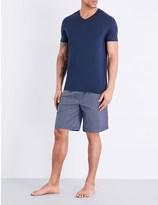 Derek Rose Nelson geometric-print cotton shorts