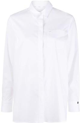 Calvin Klein Patch-Pocket Poplin Shirt