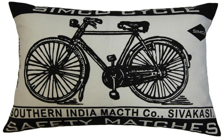 Koko Match 13x20 Bicycle Pillow