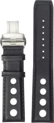 Tissot Leather Calfskin Black Watch Strap 22mm Width (Model: T600038130)