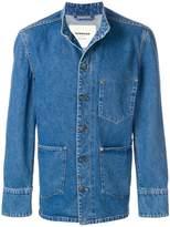 Tom Wood boxy round-neck jacket