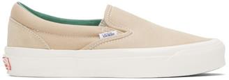 Vans Beige Suede OG Classic Slip-On Sneaker
