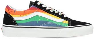 Vans Old Skool Rainbow Drip Sneakers