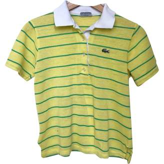 Lacoste \N Yellow Cotton Top for Women