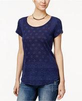 Lucky Brand Aztec-Print T-Shirt