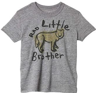 Chaser Tri-Blend Crew Neck Short Sleeve T-Shirt (Toddler/Little Kids) (Streaky Grey) Boy's T Shirt