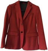 Mauro Grifoni Orange Wool Jacket for Women