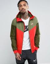 Nike Windbreaker Jacket In Orange 727324-852