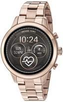 Michael Kors Women's Access Runway Stainless Steel Plated touchscreen Watch Strap GoldTone 18 (Model: MKT5045)